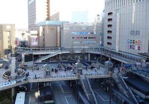八王子駅北口マルベリーブリッジ延伸(JV施工)