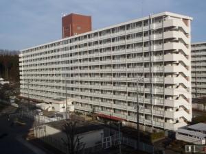都営武蔵岡アパート(7号棟)バルコニー・廊下手摺改修工事