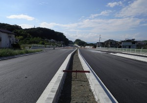 道路改修工事(南西-新滝第三工区の14)