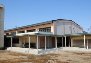 八王子市立第七中学校体育館改築工事