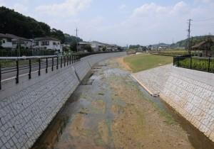谷地川整備工事