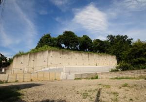 八王子浄苑擁壁補強工事