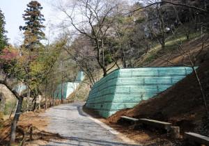 多摩森林科学園災害復旧工事