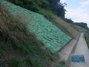 道路改修工事のうち法面復旧工事(26南西-新滝山街道)