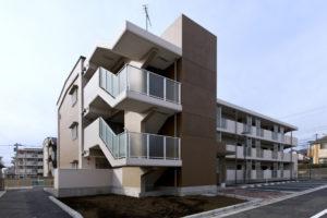 八王子市営住宅中野団地(5号棟)改築工事