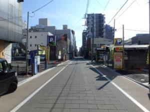 中心市街地(子安神社通り)道路改良工事