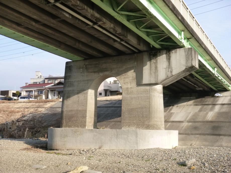 暁橋補強工事