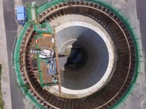 水道施設整備工事(立坑)
